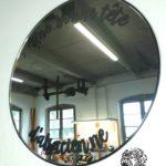 Miroir 35cm noir